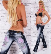 Jeans Tatto BQ rose